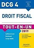 DCG 4 - Droit fiscal - Tout-en-Un - 2019 (2019)