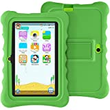 Tablet for Kids, 7 Inch Kid Edition Tablets Android 8.0 1+16GB,with WiFi, Parental Control, Preloaded Learning & Training Apps, Games and Kid-Proof Case (Green)