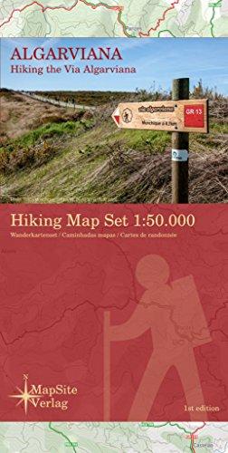 Algarviana Hiking Map Set 1:50.000: Hiking the Via Algarviana