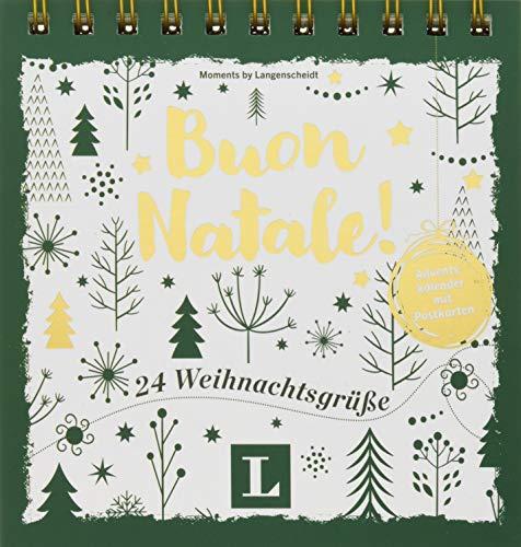 Buon Natale! - Adventskalender mit Postkarten: 24 Weihnachtsgrüße (Postkarten-Aufstellbuch Weihnachten)