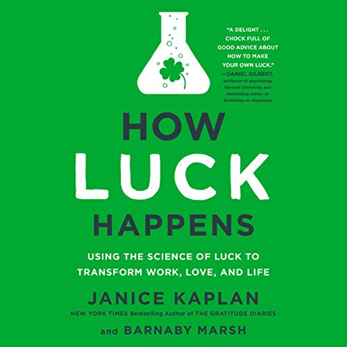 How Luck Happens audiobook cover art