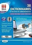 38 Dictionnaires et Recueils de correspondance -