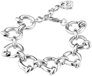 Uno de 50 bracciale lega argento cerchi en el clavo PUL1805MTL0000M