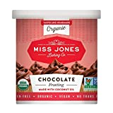 Miss Jones Baking Organic Buttercream Frosting, Perfect for Icing and Decorating, Vegan-Friendly:...