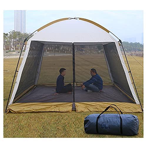 YYGG Gazebo 3x3 M, con Mosquitera para Jardín, Carpas Plegables Impermeables Pergola Plegable Cenador Camping Cenadores para Jardin, Playa, Terraza