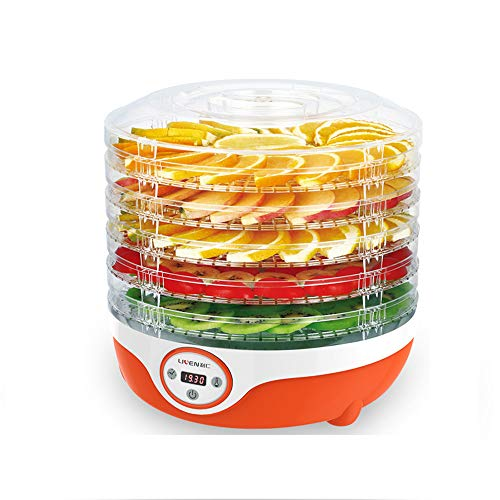 Great Features Of CJSWT Fruit Dehydrator, Food Dehydrator, 200W Large 5 Trays, Perfect for Healthy &...