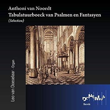 Tabulatuur-boeck van Psalmen en Fantasyen (Selection)