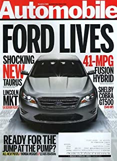 Automobile Magazine March 2009