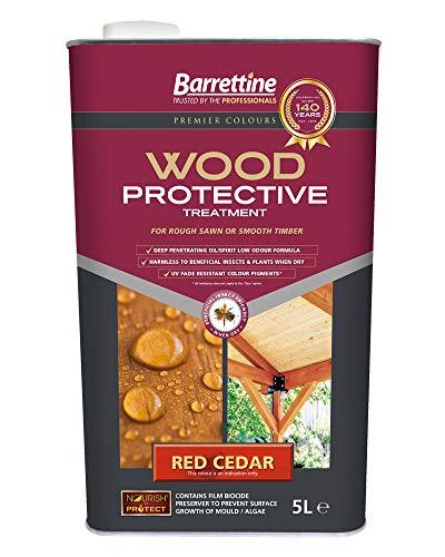Nourish & Protect PTRC005 Red Cedar 5 L Wood Protective Treatment