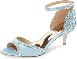 Ballroom Dance Shoes Wedding Sandals for Women Pumps with...