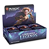 Magic: The Gathering Commander Legends Box (24 Draft Boosters Packs)