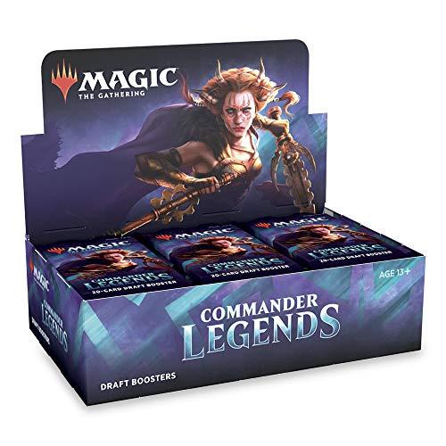 Magic: The Gathering Commander Legends Box (24 paquetes de refuerzo de borradores)