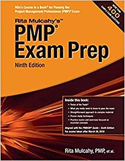 [New Factory Sealed]: Rita Mulcahy's PMP Exam Prep, 2018 ninth Edition (for PMP® Exams Taken after March 26, 2018.), 672 pages, more than 400 sample exam questions