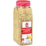 Lawry's Garlic, Rosemary & Lemon Rub delivers a fusion of herbs and spices including lemon, rosemary, garlic and black pepper for extraordinary taste, attractive appearance and consistent texture Kosher and made with no added MSG, artificial flavors ...
