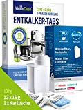 Brita Filter TZ70003 - Juego de filtros de agua y pastillas descalcificadoras para cafeteras...