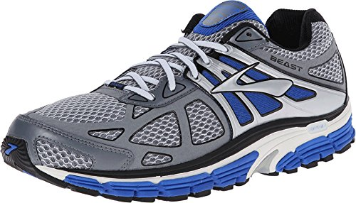 4a0194e07bd Men s Brooks Beast 14 4E Running Shoes Blue Electric Pavement Silver 110171- 4E-495 (13)