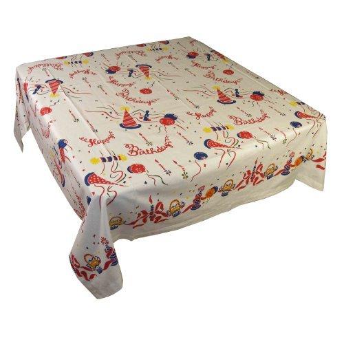 1950's Vintage Style Happy Birthday Tablecloth