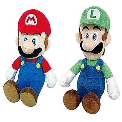mario and luigi plush