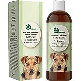 HONEYDEW Vanilla Oatmeal Dog Shampoo with Aloe Vera - Colloidal Oatmeal Shampoo for Dogs & Puppies - Anti Itch Pet Shampoo for Dogs with Sensitive Skin - Natural Odor Eliminator