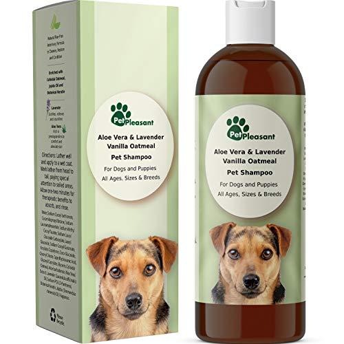 HONEYDEW Vanilla Oatmeal Dog Shampoo with Aloe Vera - Colloidal...