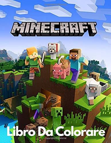 Minecraft libro da colorare: Libro da colorare Minecraft per bambini e adulti