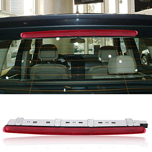Auto Rückleuchte LED 3. Dritte Bremsleuchte C-Klasse W203 Dritte Bremsleuchte Led 2000-2007 Bremslicht Zusatzbremsleuchte Rückleuchten Rücklicht Rot