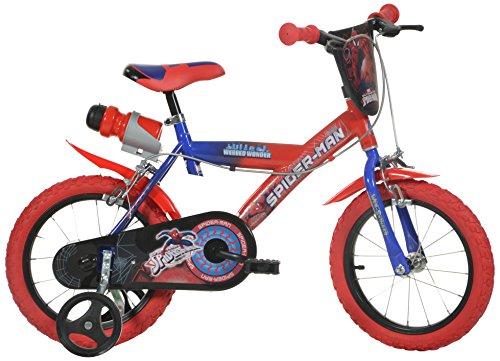 Dino Bikes 14-Inch Spider Man Children's Bike