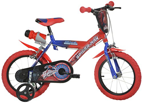 Robbie's Toys - Dino Bikes 143G-SA 14-Inch Spiderman Bicycle