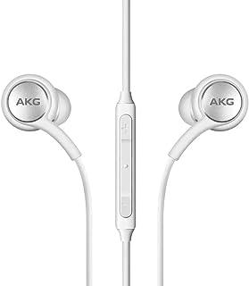 Auriculares estéreo para Samsung Galaxy S10 S10e S10 Plus 2019 - Diseñado por AKG - con micrófono (renovado)