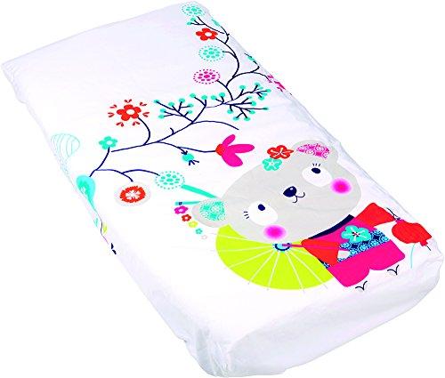 Tuc Tuc Kimono - Edredón desenfundable + protector de cuna, 120 x 60 cm