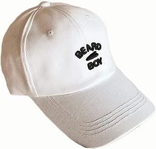 YAKADLY Male and Female Caps Street Summer Sunshade Baseball Cap 5 (Color : White)