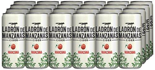 Ladrón de Manzanas Cider Mazana - Caja de 24 Latas x 330 ml - Total: 7.92 L