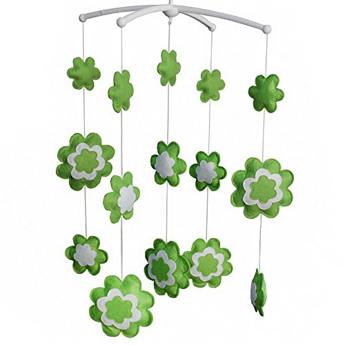 [Blühen] Nette Dekor Hängende Spielzeug, Musical Mobile, hängende Blumen