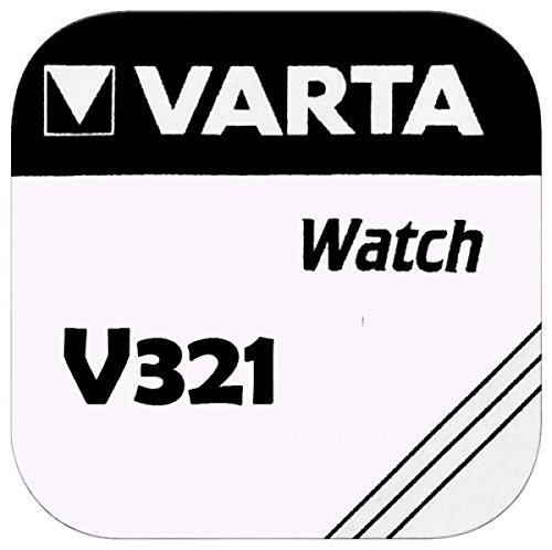 VARTA KNOPFZELLEN 321 SR616SW (1 Stück, V321)