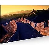 islandburner Bild Bilder auf Leinwand Chinesische Mauer 1K