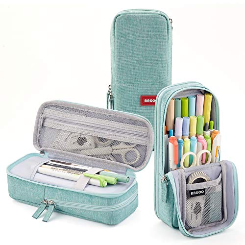 CICIMELON Standing Pencil Case Pencil Holder Multi-Layer Pencil Pouch Bag Gift for School Office...