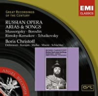 Russian Opera Arias & Songs (Great Recordings of the Century) by Boris Christoff (2007-09-18)