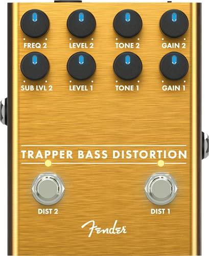 Fender® Trapper Bass Distortion Floor Effect Pedal for Bass