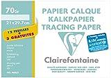 Clairefontaine lot 2 papier calque 12+3 fuilles A4