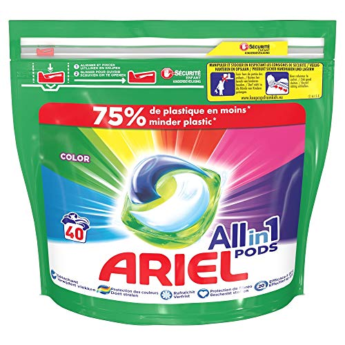 Ariel All-In-1 Pods Color 40 Unidades 1020 g