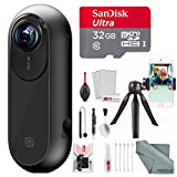 Insta360 ONE Action Camera for iOS with 32 GB + Stable Cell Phone Tripod + Xpix Deluxe Cleaning Kit