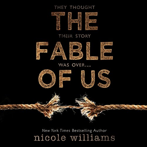 The Fable of Us audiobook cover art