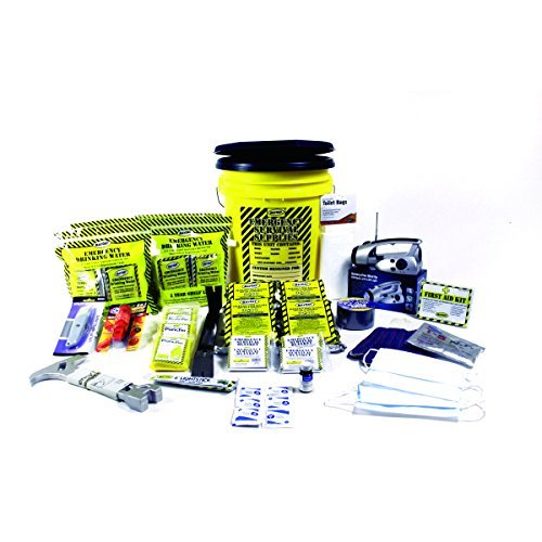 Mayday Industries 4 Person DLX Home Emergency Survival Kit