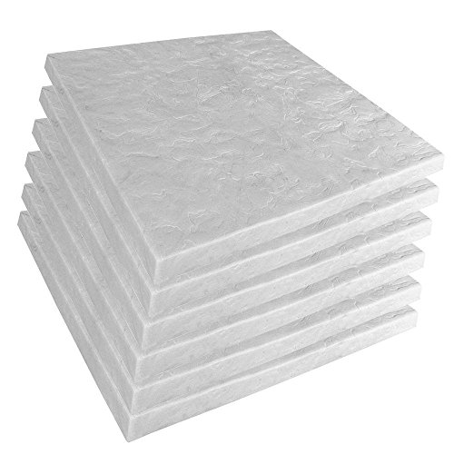 24' x 24' High-Density Plastic Resin Extra-Large Paver Pad in Grey (Case of 6)