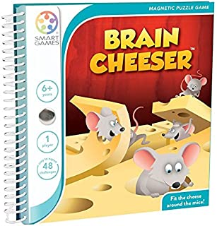 SmartGames SGT250 Brain Cheeser Magnetic Puzzle Game