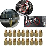 HanTof 6-32 Brass Motherboard Standoffs,ATX Case Standoffs, ATX Standoff for ATX Computer Case - 20 Pack