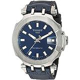 Tissot Mens T-Race Swiss Automatic Stainless Steel Sport Watch (Model: T1154071704100)