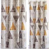 Confecciones Paula - Cortina con ollaos Vigo - 150x260 cm - Color Beig