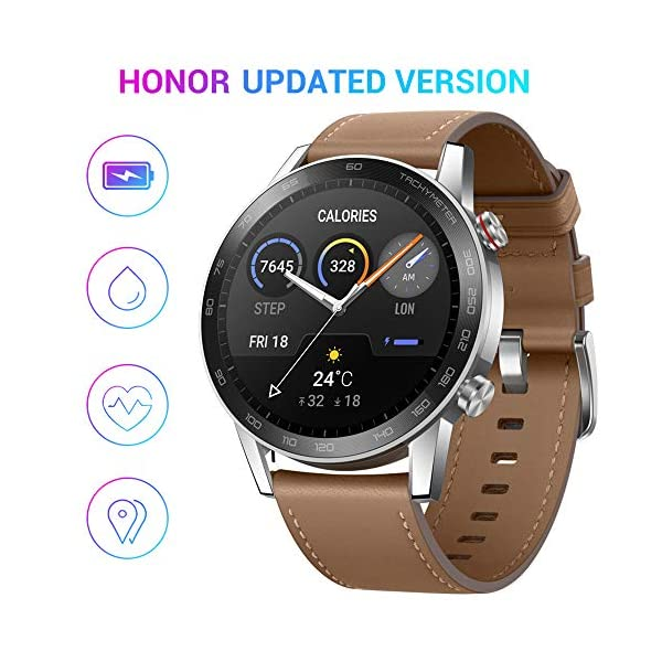 HONOR Smartwatch Magic Watch 2, 46mm Reloj Inteligente con Pulsómetro, hasta 14 días de Batería, 5ATM Waterproof… 1