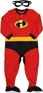 Pixar Incredibles 2 Little Boys Blanket Sleeper with Mask (5T)